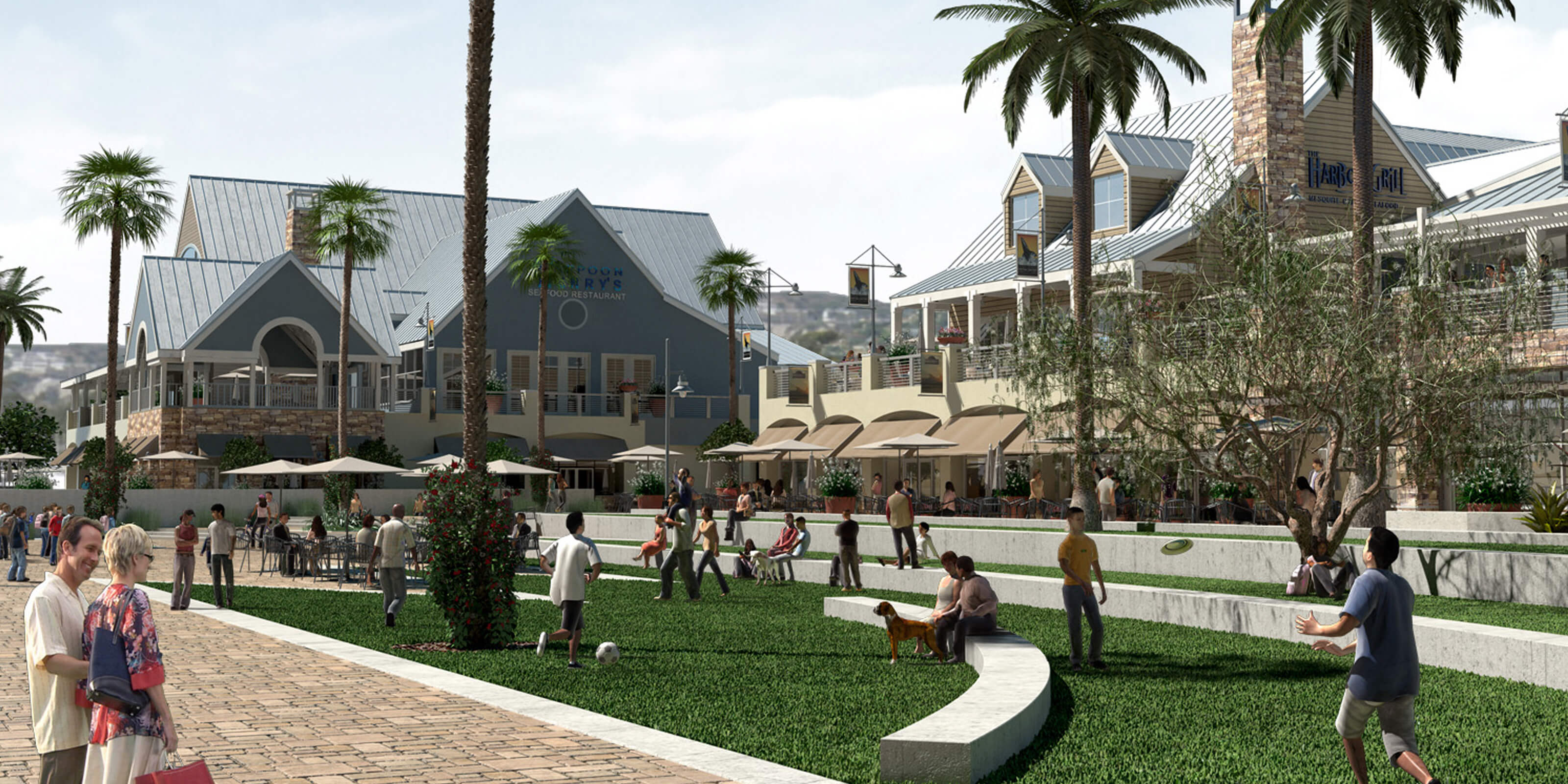 Dana Point Harbor Revitalization Sva Architects