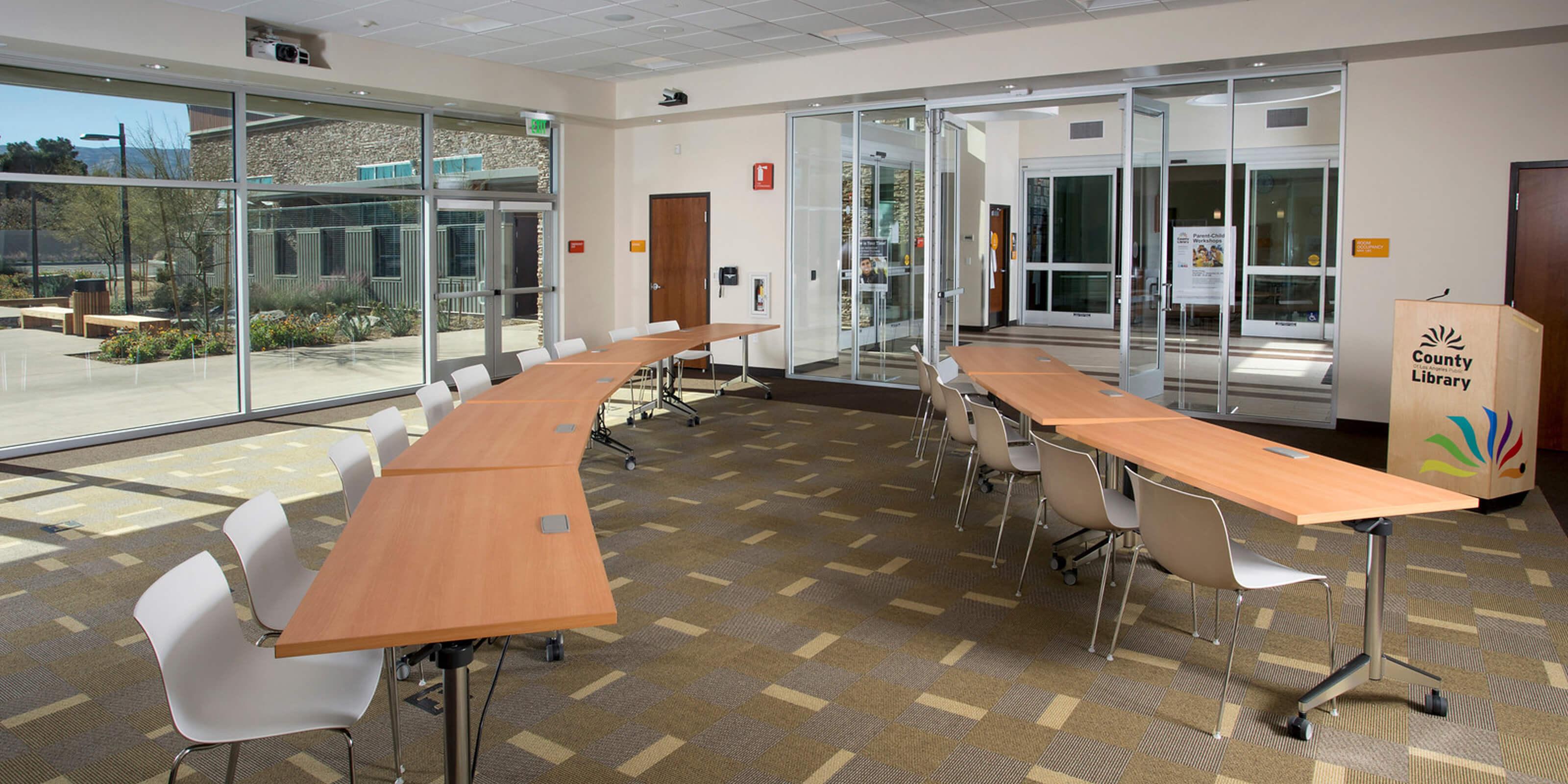 Quartz Hill Library Study Room