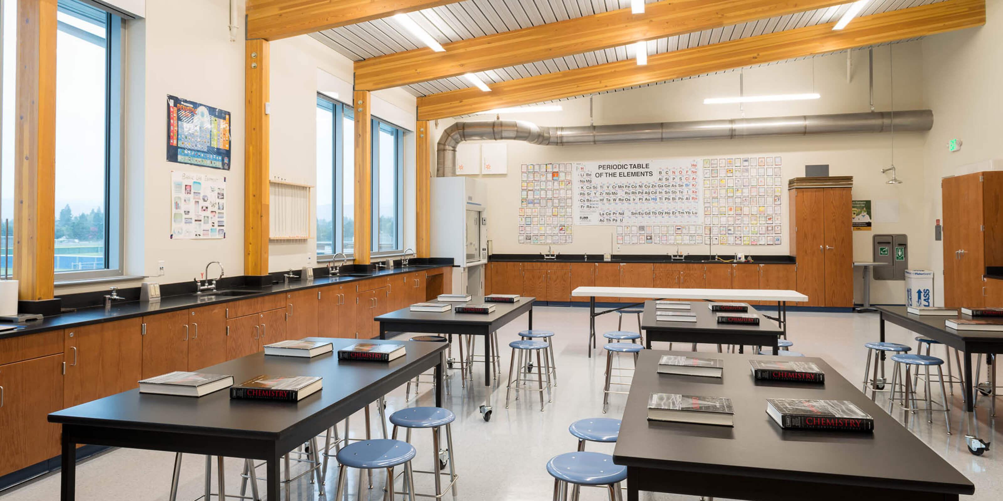 Irvington High School Science Classroom Expansion | SVA ... High School Science Classroom